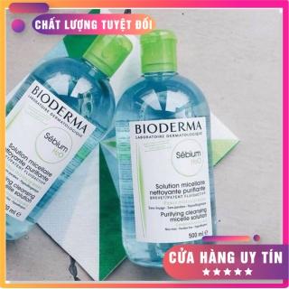 [SẢN PHẨM NHẬP KHẨU] Nước Tẩy Trang Bioderma Dành Cho Da Dầu & Hỗn Hợp Sébium H20 l làm sạch làn da mịn màng sau khi loại bỏ lớp make up thumbnail