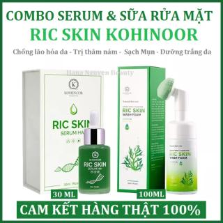 Combo Ric Skin Sữa Rửa Mặt + Serum HA+ Chính Hãng thumbnail