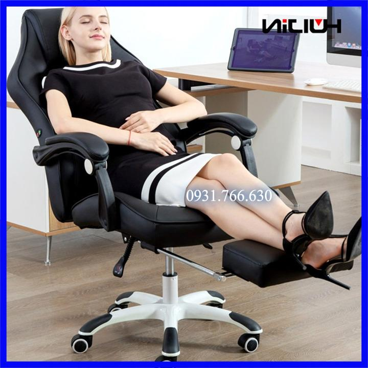 Ghế Massa 7 điểm,Ghế xoay văn phòng,Ghế thư giãn 7 điểm ( Màu đen,Màu kem ) giá rẻ