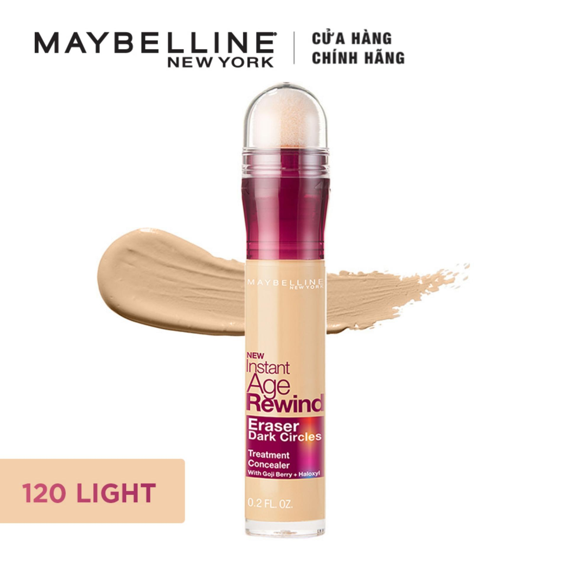 Bút cushion che khuyết điểm, giảm quầng thâm Maybelline New York Instant Age Rewind Concealer 6ml