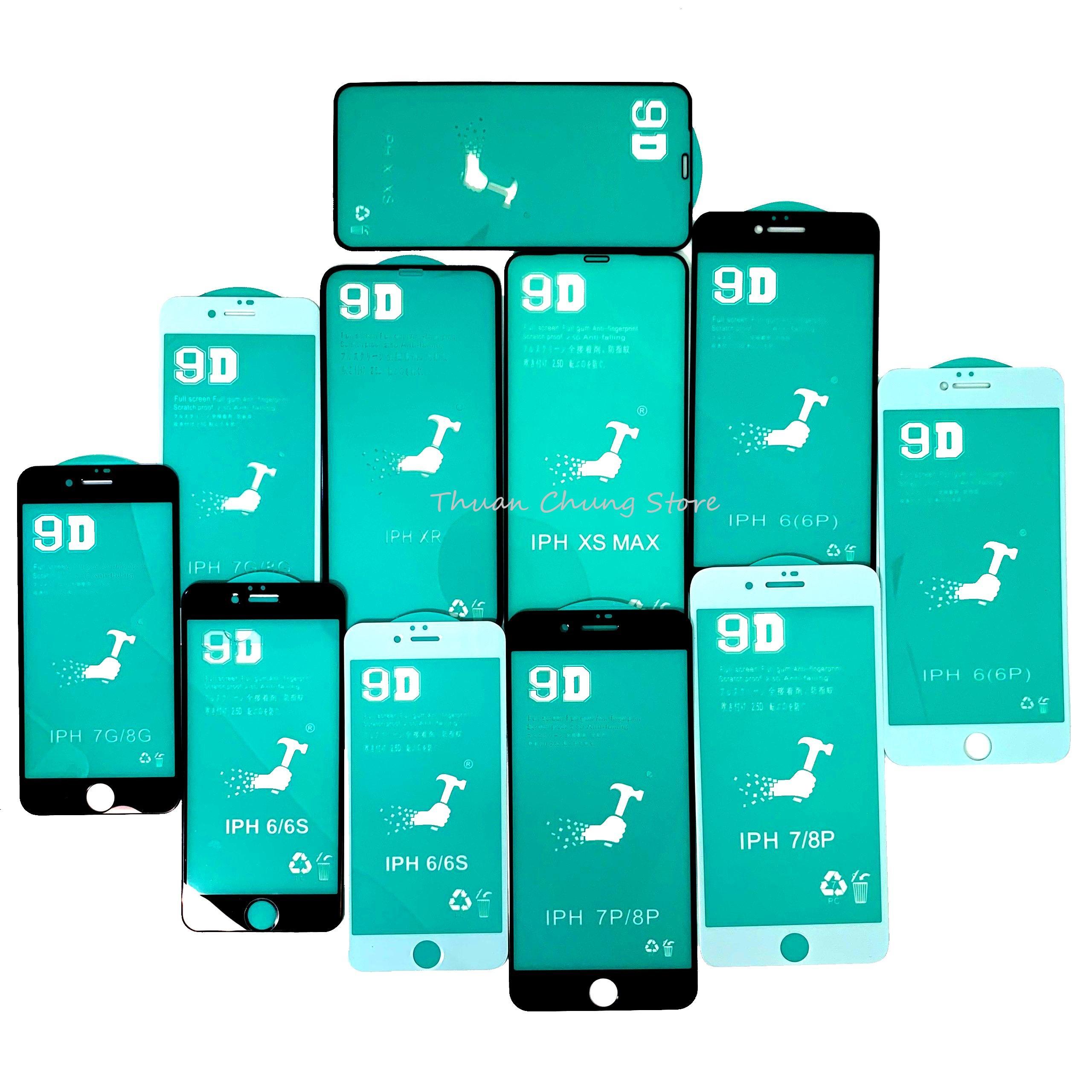 Kính Cường Lực 9D Dẻo Full Màn Hình Iphone 6,6s,7,8,x,6p,6sp,7p,8p,X, Xr, Xs Max, 11, 11 Pro, 11 Pro Max( Vui Lòng Chọn đúng Dòng điện Thoại + Màu Trong Mục Lựa Chọn)11Pro Max Có Giá Cực Kỳ Tiết Kiệm