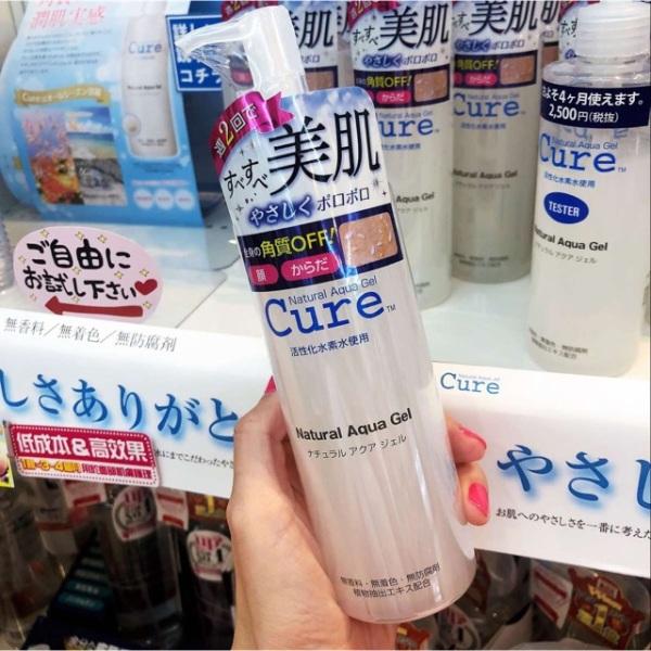 Tẩy Da Chết Cure Natural Aqua Gel Chính Hãng 250ml giá rẻ