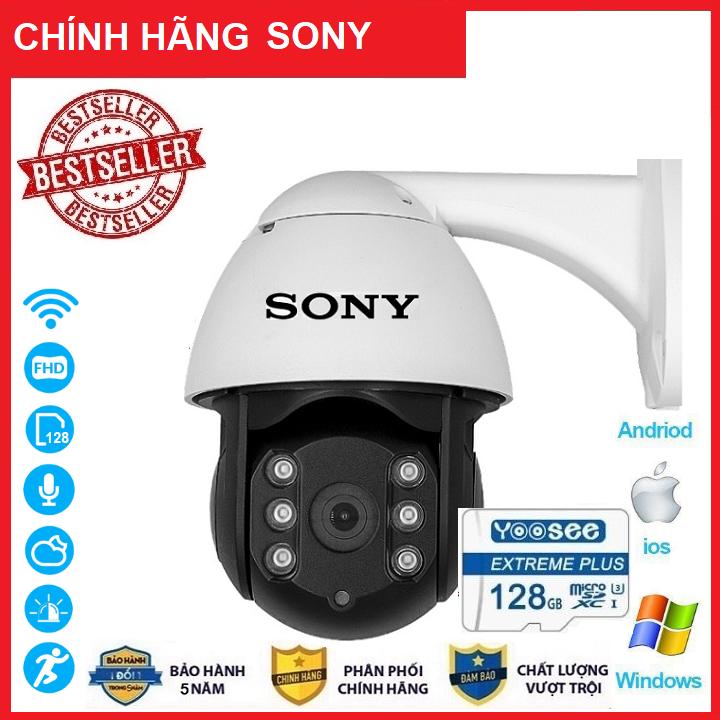 ( Combo Camera Thẻ 128GB Yoosee Bảo Hành 60 Tháng ) Camera Wifi Sony PTZ Xoay 360 Độ 3.0 Ngoài Trời - Trong Nhà  3.0 Mpx Full Hd 1080P , Siêu Chống Chịu Thời Tiết - New 2020 - FPT Shop (MÃ KÈM THẺ 620K VÀ KHÔNG KÈM THẺ 535K)