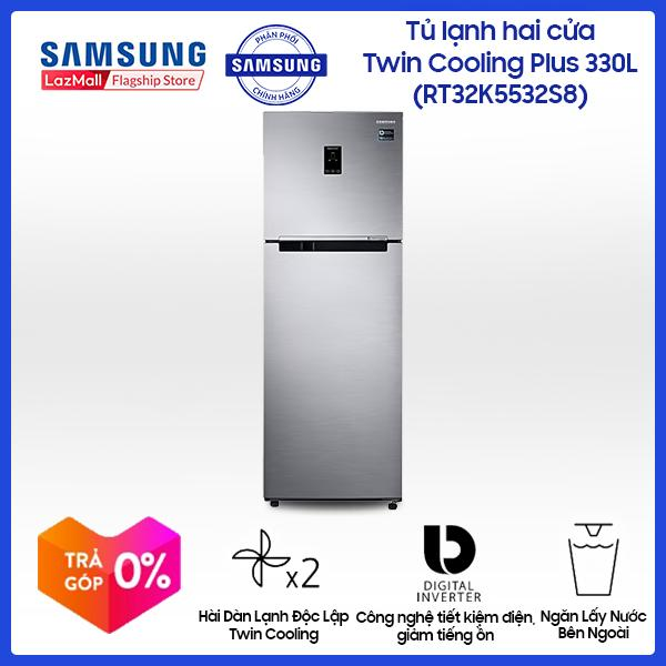 Tủ lạnh hai cửa Samsung RT32K5532S8/SV 320L (Đen)