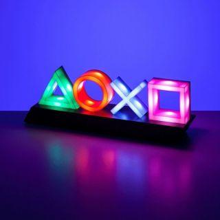 Đèn led trang trí playstation icon light nháy theo nhạc, cảm ứng âm thanh, 3 chế độ ánh sáng RGB thumbnail