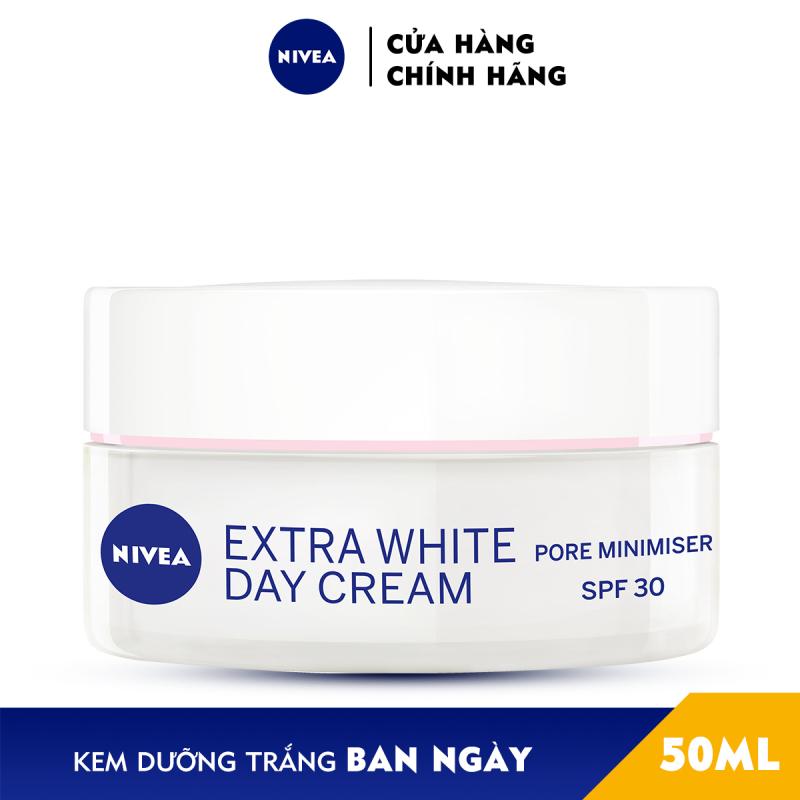 Kem dưỡng trắng da ban ngày NIVEA Pearl White chiết xuất ngọc trai SPF33 PA+++ (50ml) - 82335 giá rẻ