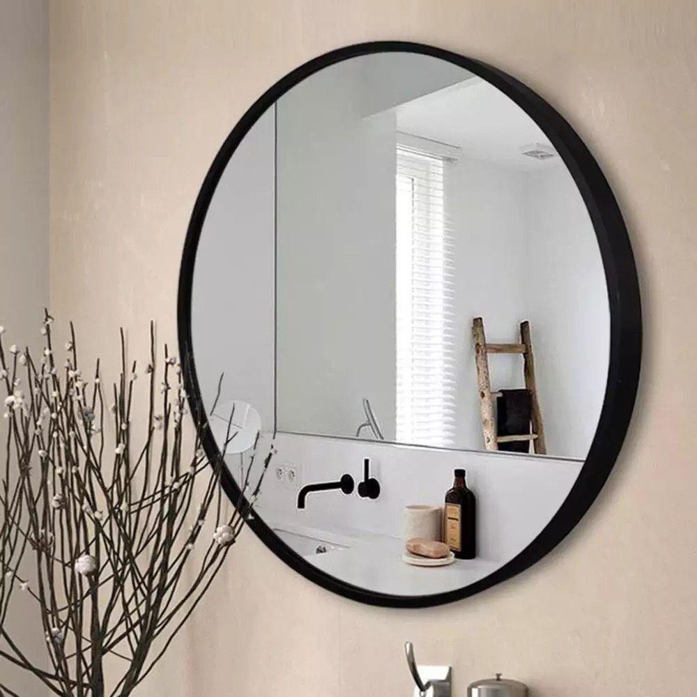 Gương tròn treo tường phòng tắm SMHome D600 - đường kính 600 mm giá rẻ