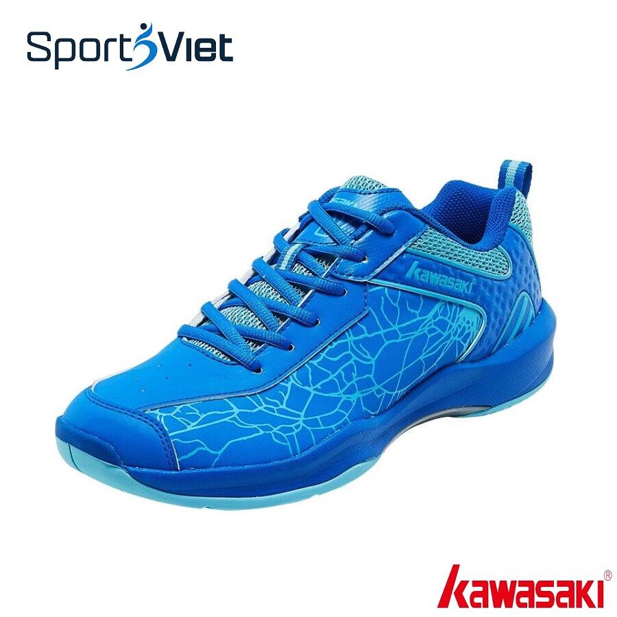 Giày cầu lông nam nữ Kawasaki K081 mẫu mới, êm ái thoáng khí, giày đánh bóng chuyền  - giày thể thao nam nữ KawasakI K081 -SPORTSVIET