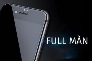 Kính cường lực 6D dẻo full màn hình Iphone 6,6s,7,7p,8,8p,Trắng thumbnail