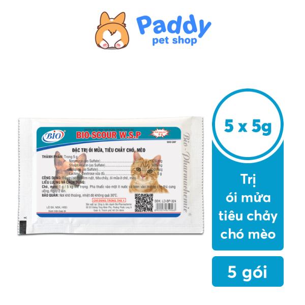 Bột Bio Scour hỗ trợ kiểm soát viêm ruột, tiêu chảy cho chó mèo