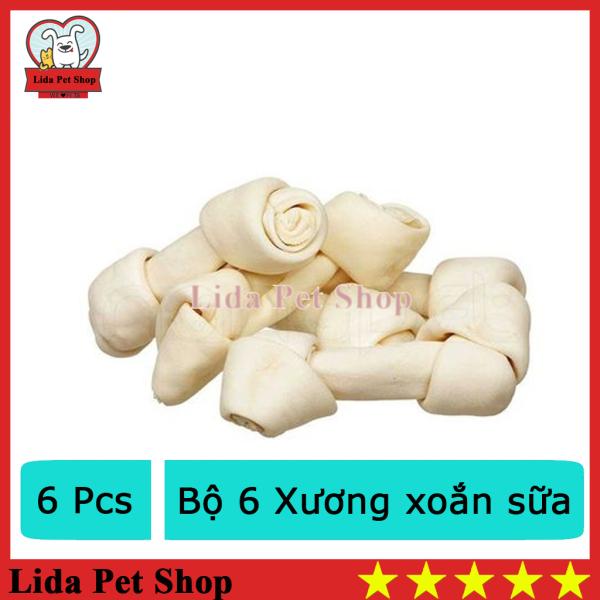 HN- Bộ 6 Xương xoắn sữa cho chó dưới 5kg (368)-HP10331TC