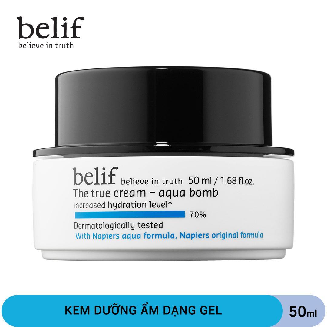 Kem dưỡng dạng gel cấp ẩm Belif The True Cream Aqua B0mb 50ml