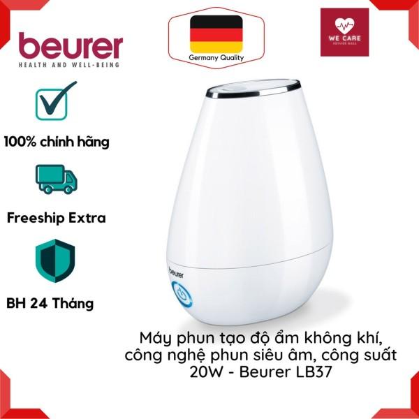 MÁY TẠO ĐỘ ẨM KHÔNG KHÍ BEURER LB37 – Máy tạo độ ẩm công nghệ phun siêu âm, công suất 20W