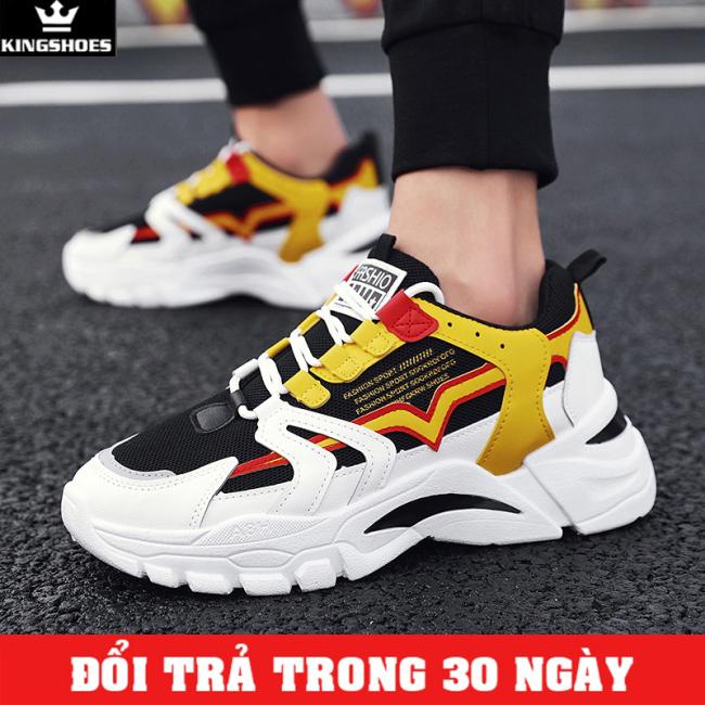 Giày Sneaker Nam Cao Cấp Phong Cách Hàn Quốc (Giá Siêu Sốc) - KINGSHOES (KS02) giá rẻ