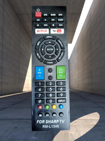 Bảng giá Điều khiển tivi Sharp TV Sharp 2T-C 4T-C LC- 32inch 40inch 42inch 4K 60inch - Hàng tốt
