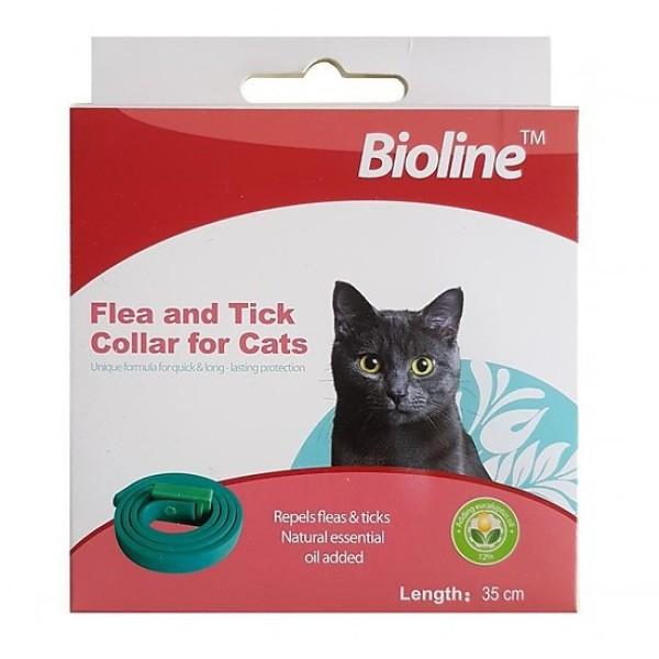 Vòng cổ ngừa và trị ve rận bọ chét cho mèo BIOLINE