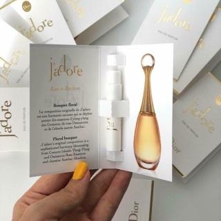 [ Mẫu thử ] Nước Hoa Vial Dior Jadore 1ml thumbnail