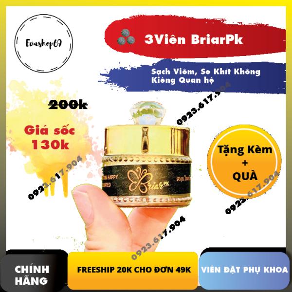[FREESHIP +KÈM QUÀ] 3 Viên Thảo Mộc Briar Sạch Vùng Kín và Se Khít - Evashop69 - Như Thuở Hồng Hoa