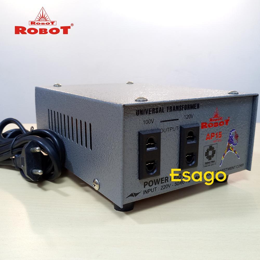 Biến thế đổi điện Robot từ 220V xuống 100V-120V công suất 400VA UT1P400AP15