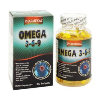 Viên Uống Dầu Cá Omega 369 Pharmekal - 100 Viên thumbnail