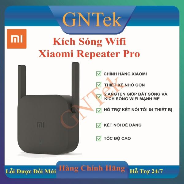 Bảng giá [Bản QT- BH Digiworld] Thiết bị kích sóng Xiaomi Repeater Pro Wi-Fi Range Extender Pro l Wi-Fi băng tần 2.4GHz l Tốc độ truyền tối đa 300Mbps Phong Vũ