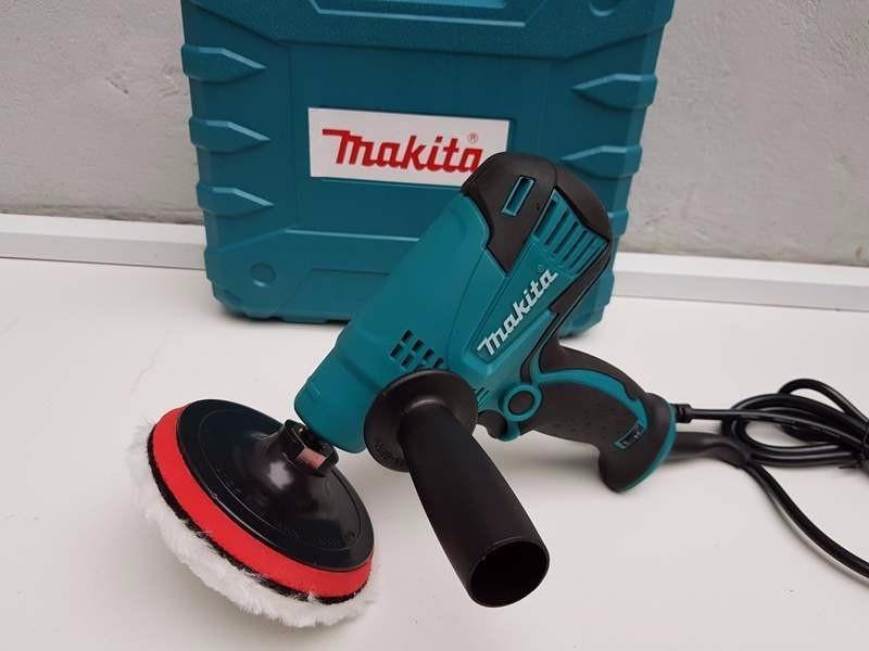 Máy đánh bóng Makita GV6010 600W, máy chà nhám đĩa makita - máy đánh bóng xe hơi, máy đánh bóng xe máy( hang loai 1.loĩ Đồng)