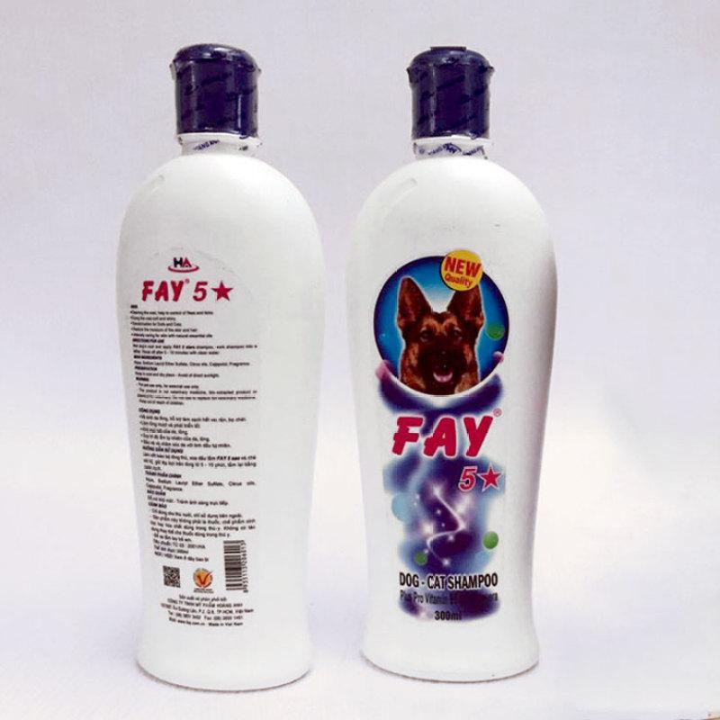 Sữa tắm Fay 5 Sao 300ml Dành cho chó mèo