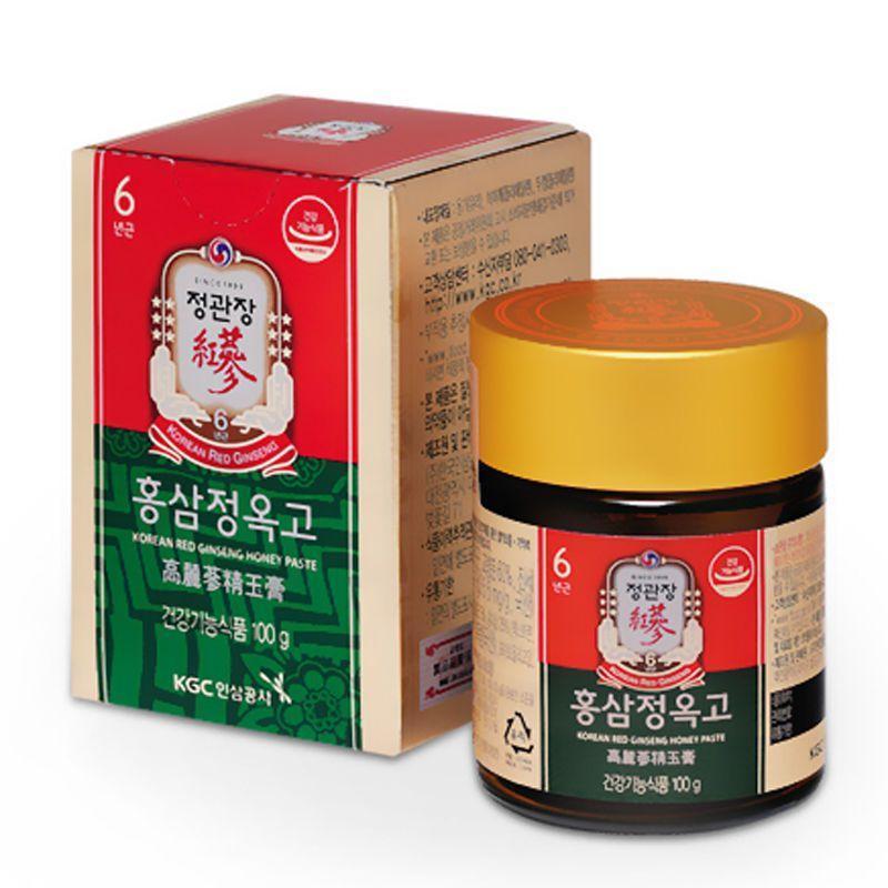 Thực phẩm chức năng Tinh chất Hồng sâm và Mật ong 100g - CKJ Korean Red Ginseng Extract With Honey Paste 100g cao cấp
