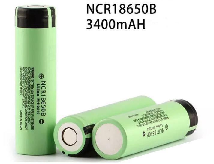 Pin sạc NCR 18650B Panasonic 3400mAh cho quạt sạc mini, đèn pin, máy khoan cầm tay...