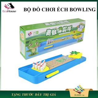 Đồ chơi trẻ em ếch bắn bowling, đồ chơi giải trí cho bé và bố mẹ, giúp bé tăng cường khả năng phản xạ thumbnail