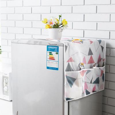 Khăn trải tủ lạnh chống thấm nước GIA DỤNG KOREA tiện lợi có 6 ngăn