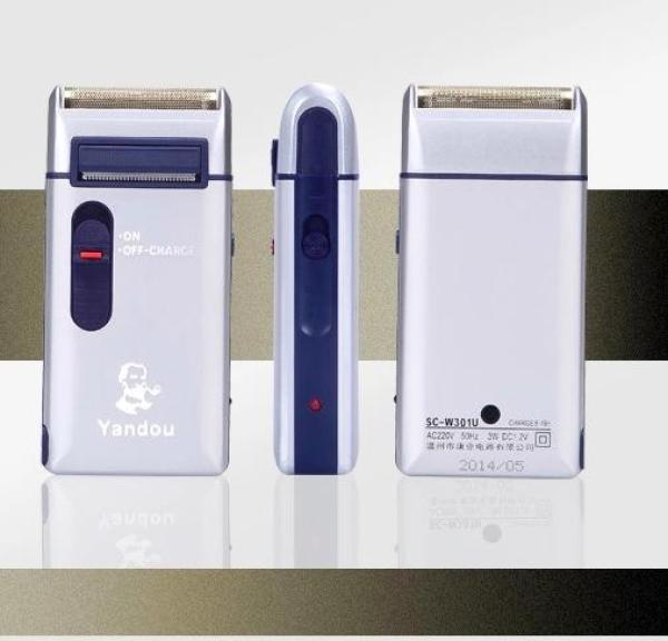 Bảng giá Máy cạo râu Yandou CAO CẤP Kèm bao da - Máy cạo râu cầm tay nhỏ gọn - tiện dụng - giá rẻ MCR551 Điện máy Pico