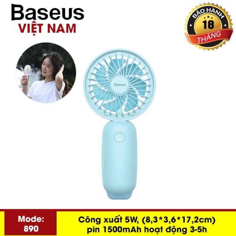 Quạt mini cầm tay pin sạc Baseus F890 Firefly Mini Fan  (Portable Rechargeable Mini USB Hand Fan) 3-Tốc Độ Có Thể Điều Chỉnh Cho Sinh Viên nhân viên văn phòng - Phân phối bởi Baseus Vietnam