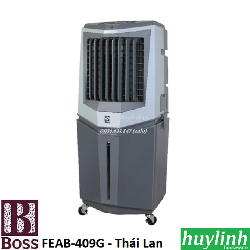 Bảng giá Máy làm mát không khí Boss FEAB-409G - Made in Thái Lan
