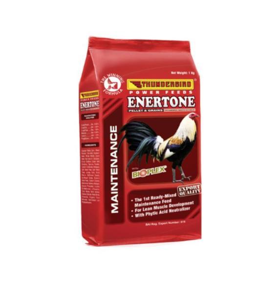 Cám gà đá, cám đỏ Enertone (1kg) - Pet Food Store.