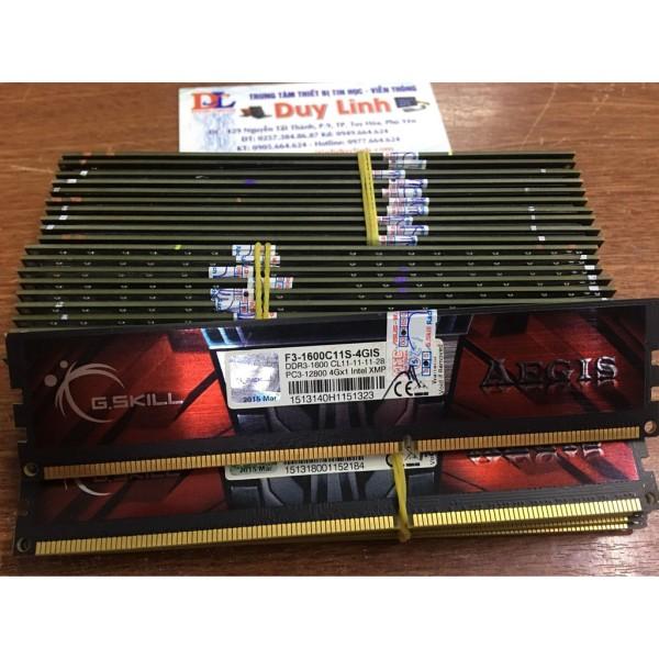 Bảng giá [Nhập ELJAN11 giảm 10%, tối đa 200k, đơn từ 99k]Ram 4g ddr3/1600 gskil tản lá hoặc tản thép đỏ đẹp - team bus 1600 mới cam kết sản phẩm đúng mô tả chất lượng đảm bảo an toàn đến sức khỏe người sử dụng Phong Vũ