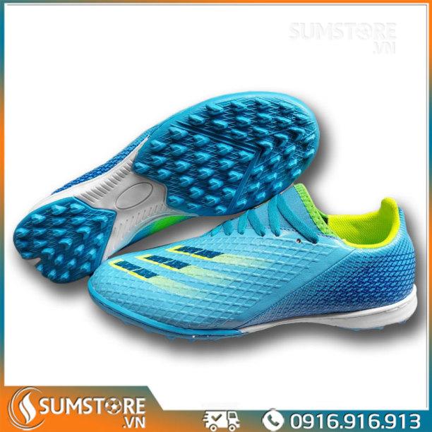Giày Thể Thao Nam Nữ Đá Bóng Winbro XGhost Xanh Ya Cao Cấp - Giày Đá Banh Mới 2021 (Tặng Kèm Vớ) giá rẻ