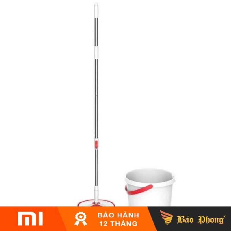 Bộ cây lau nhà thông minh XIAOMI Yijie Rotary Mop Set YD-02 Red Gray Cloth