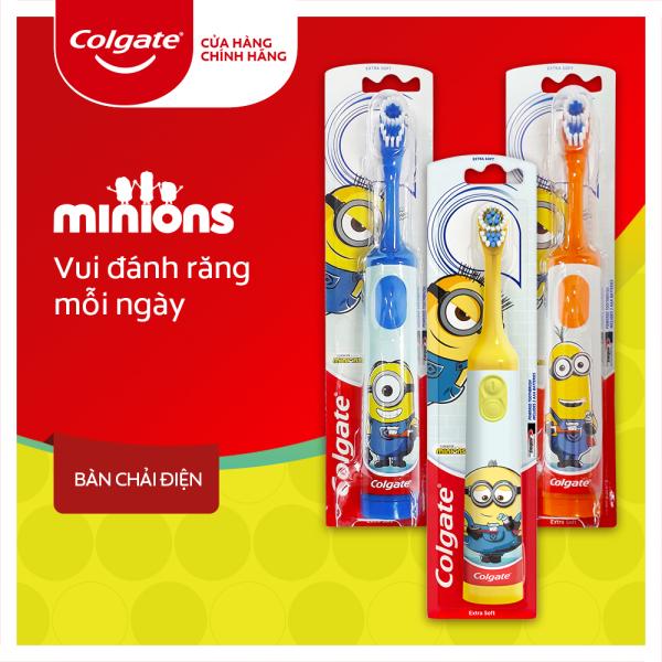 Bàn chải đánh răng điện Colgate Minions dành cho trẻ em giá rẻ