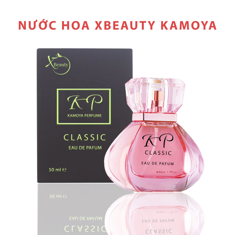Nước hoa Nam & Nữ XBeauty Kamoya Classic 30 & 50 ML (Dây chuyền Nhật bản). Nước hoa XBeauty Kamoya Classic hương nhẹ nhàng thơm lâu dùng được cả Nam và Nữ nhập khẩu