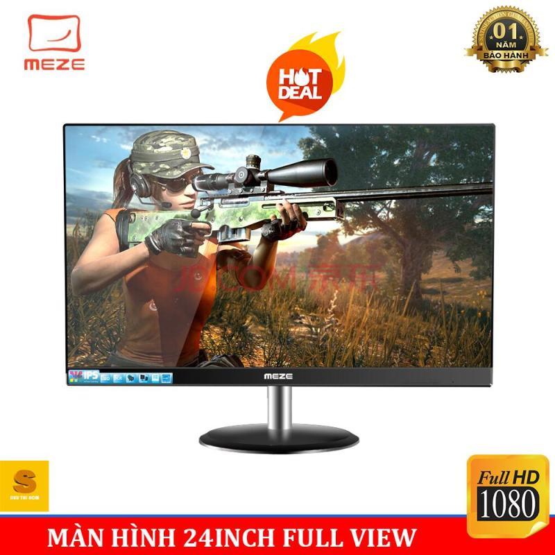 Màn HÌnh Máy Tính Gaming Meze 24inch Full Viền , Full HD1080 - Tặng Kèm Chuột Game Thủ Boliduo - Bảo Hành 3 Năm