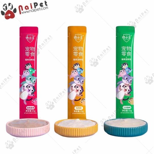 Đồ Ăn Vặt Súp Thưởng Cho Mèo Ciao Wang 15g