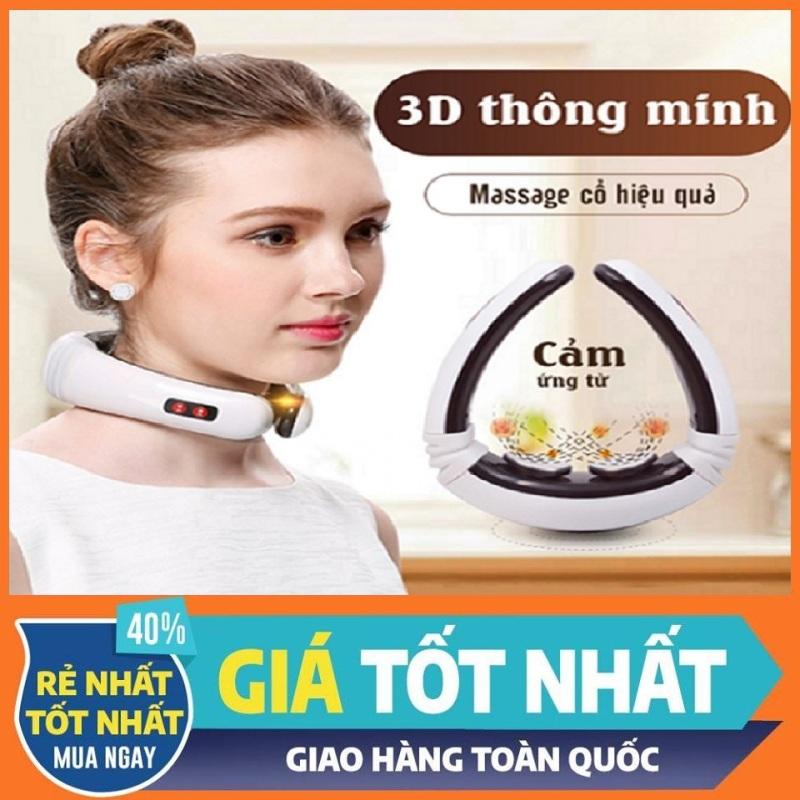 Bảng giá Máy massage cầm tay mini rung cho nam, nữ tại nhà | Máy massage cổ, vai, gáy dùng pin có cảm ứng xung điện từ 3D thông minh