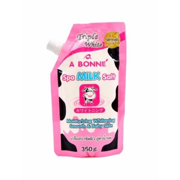 [Thu thập mã giảm thêm 30%] Muối Tắm Sữa Bò Tẩy Tế Bào Chết - A Bonne Spa Milk Salt 350g