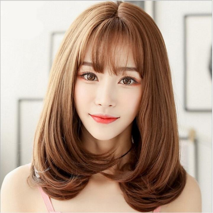 Tóc giả nữ Hàn Quốc + Tặng kèm lưới T161 tốt nhất