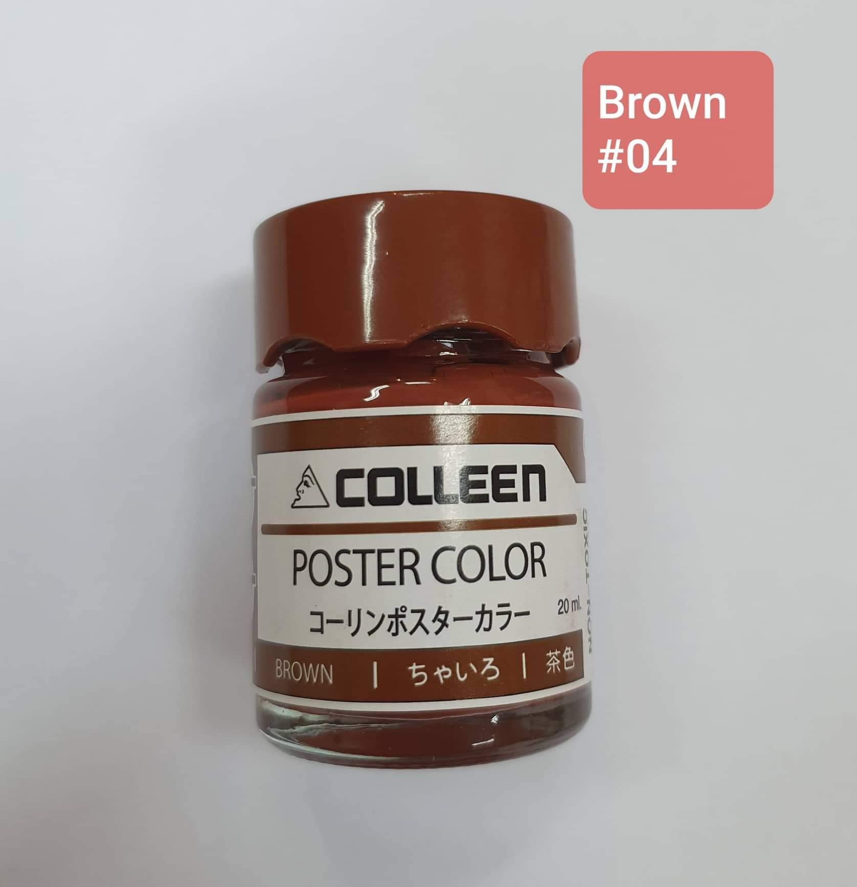 Mua [Lẻ] Màu nước Colleen Poster Color 20ml/1hủ (12 màu)