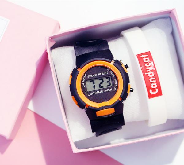 Nơi bán Đồng hồ trẻ em LED M2 unisex giao màu ngẫu nhiên