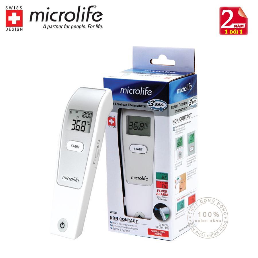 Nhiệt kế điện tử đo trán Microlife FR1MF1 bán chạy
