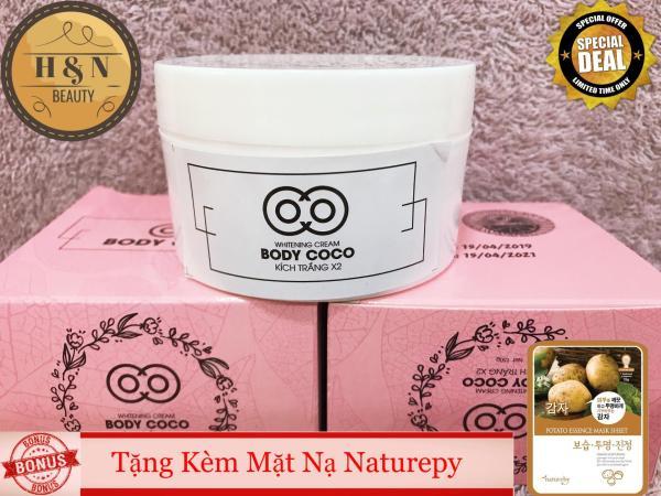 COMBO 2 KEM DƯỠNG TRẮNG DA BODY COCO (tặng mặt nạ innisfree/nature) nhập khẩu