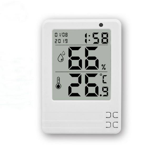 Nhiệt ẩm kế điện tử thông minh 4 in 1 xem được trong đêm độ chính xác, cam kết hàng đúng mô tả, sản xuất theo công nghệ hiện đại, an toàn cho người sử dụng cao cấp